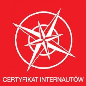 Zagłosuj na Certyfikat Internautów
