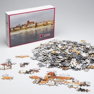 Puzzle - Wiślana panorama Torunia