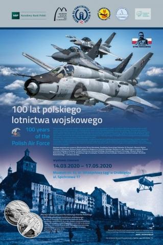 """Galeria dla Finisaż Wystawy """"100 lat polskiego lotnictwa wojskowego"""""""