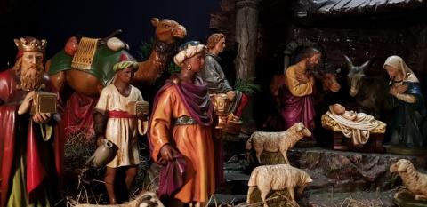 Galeria dla Pójdźmy wszyscy do stajenki… Przedwojenne szopki bożonarodzeniowe z kolekcji Łukasza Ciemińskiego