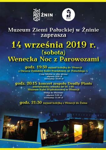 Galeria dla Wenecka Noc z Parowozami